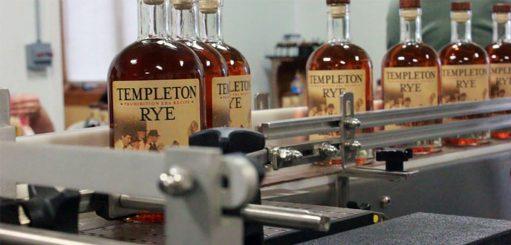 Whisky bottelen machine