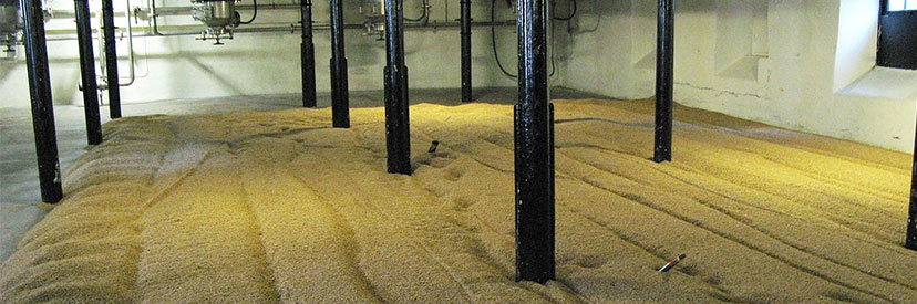 Whisky malting floor