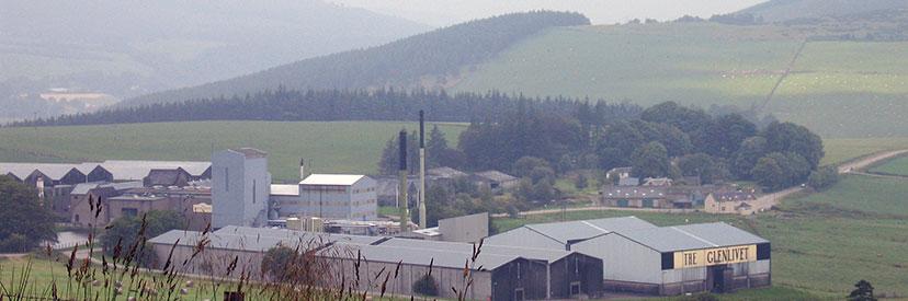 Speyside whiskyregio Schotland