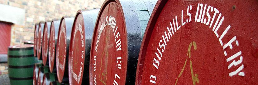 Old Bushmills whiskyvaten