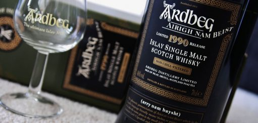 Whisky etiket lezen
