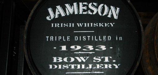 Jameson whiskey rijke traditie