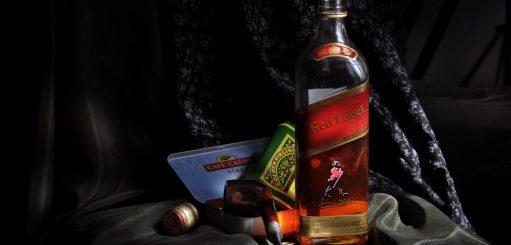 Johnnie Walker, een reus onder de whisky's