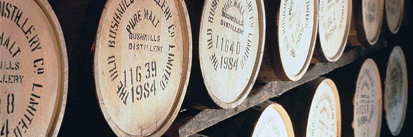 Eikenhouten whiskyvaten