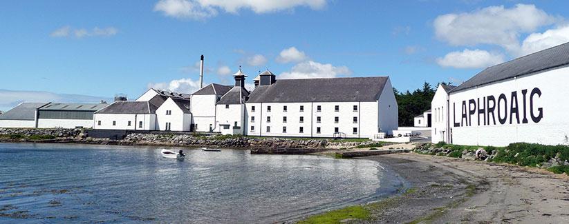 Laphroaig distilleerderij Islay