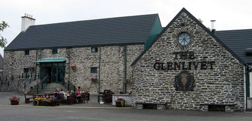 The Glenlivet distilleerderij in Speyside