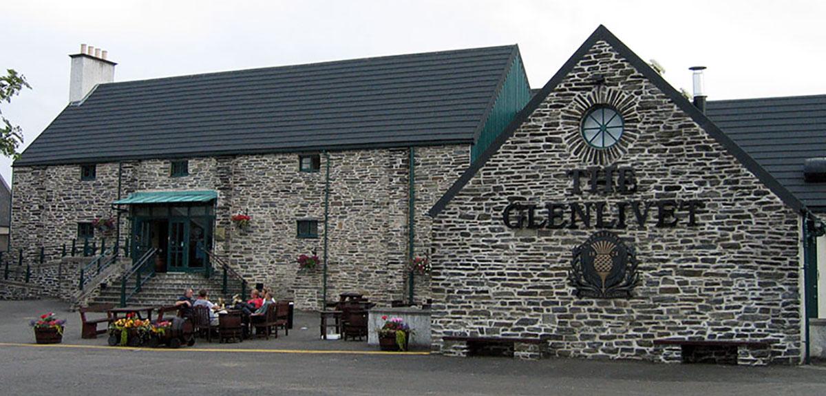 The Glenlivet distilleerderij in Speyside