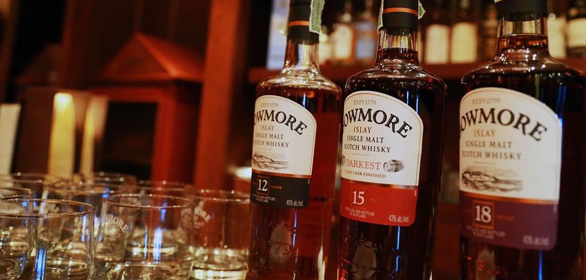 Bowmore de oudste distilleerderij van Islay