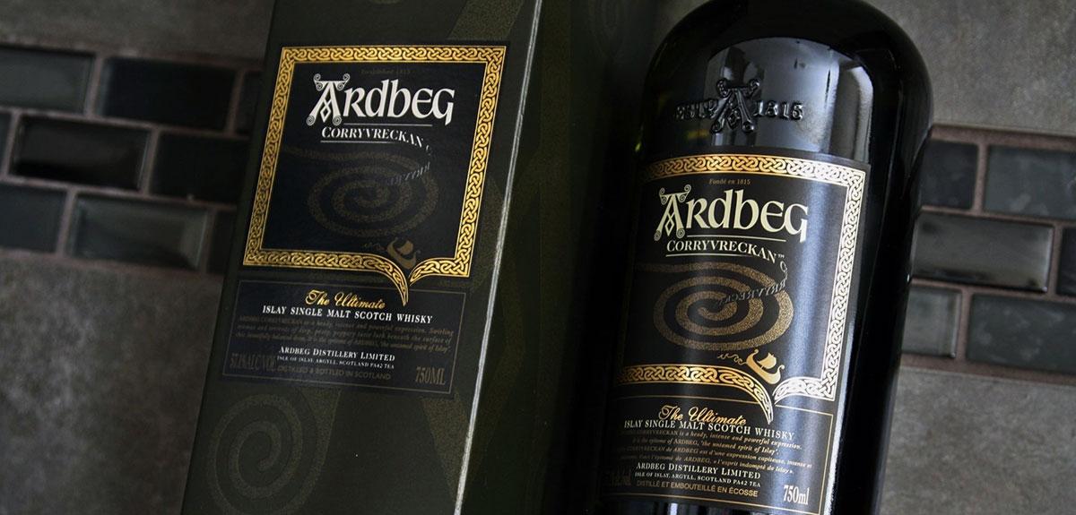 Ardbeg turfachtige whisky Islay