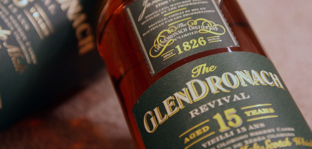 Glendronach, whisky met rijk sherry karakter