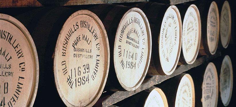 Bushmills Distillery whiskyvaten