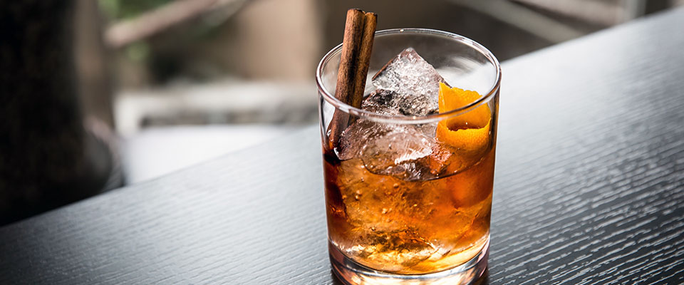 Old Fashioned zomerse whiskycocktail
