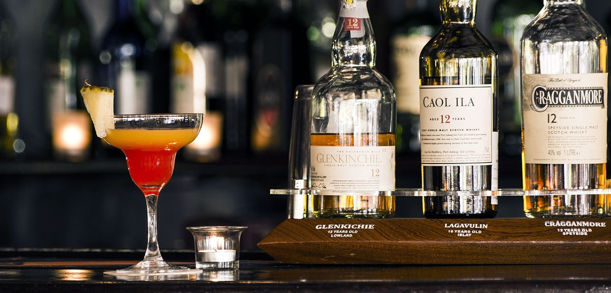 Zomerse whiskycocktails