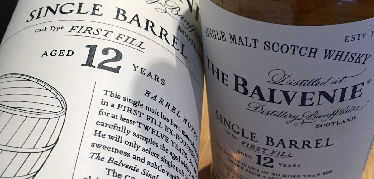 Review Balvenie 12 Years Single Barrel First Fill