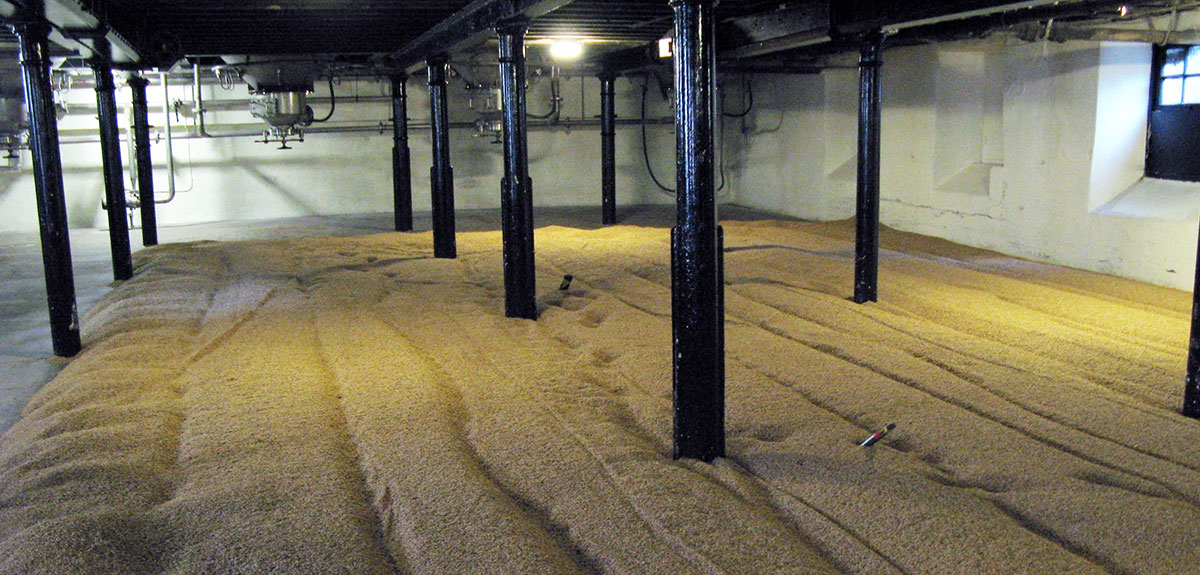 Malting floor Highland Park