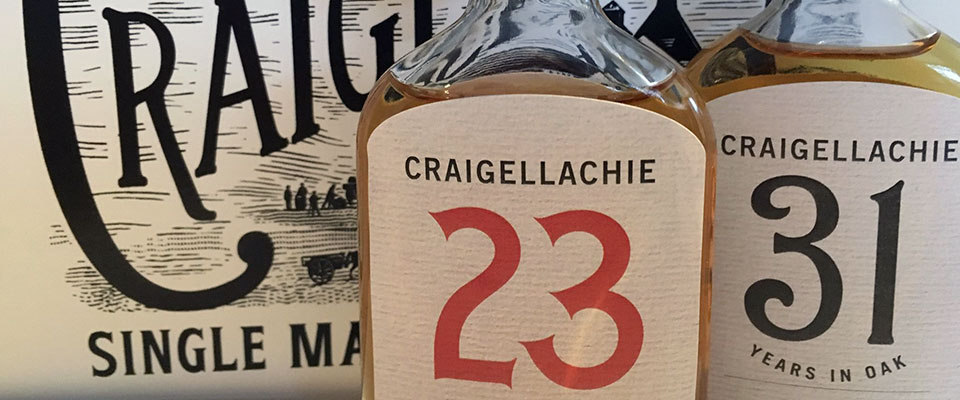 Craigellachie whisky range