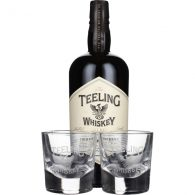 Teeling Small Batch Rum Cask Finish Giftset 70CL