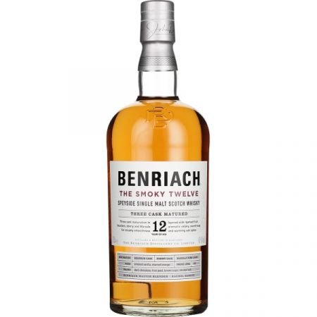 Benriach 12 years The Smoky Twelve 70CL